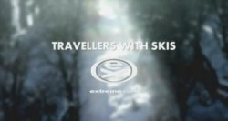 Travellers with Skis